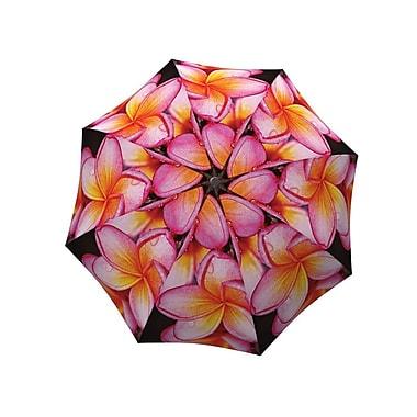 La Bella Umbrella All Fiberglass Stick/Straight Umbrella, Magnolias Design