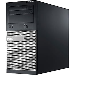 Dell - PC de table Optiplex 390 remis à neuf, Intel Core i3 2100, 3,1 GHz, RAM 6 Go, DD 750 Go, Windows 10 Pro