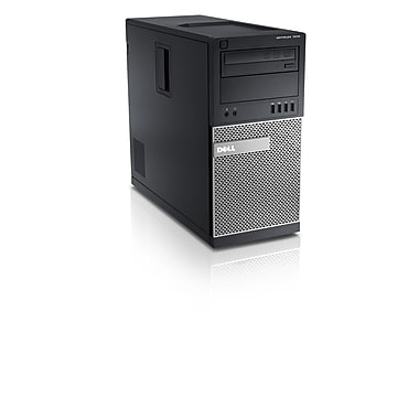 Dell - PC de table Optiplex 7010 remis à neuf, Intel Core i7 3770, 3,4 GHz, RAM 12 Go, DD 1 To, Windows 10 Pro