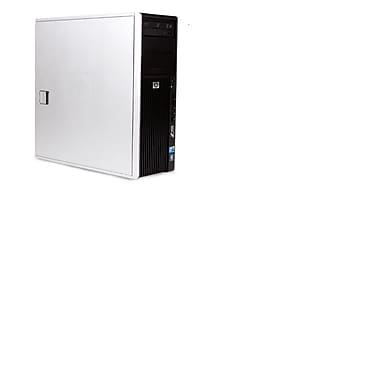 HP Z400 Refurbished Desktop, 2.4GHz Intel XEON (W3503), 6GB RAM, 1TB HDD, DVDRW, Windows 10 Pro