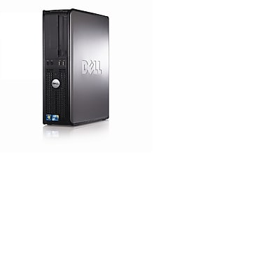 Dell – PC de table GX380, Intel Core 2 Duo 2,93 GHz E7500, RAM 4 Go, dd 500 Go, DVD-RW, Windows 10 Pro, remis à neuf