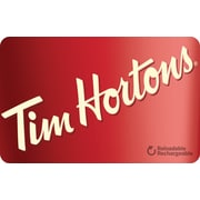 Tim Horton's $15 Gift Card