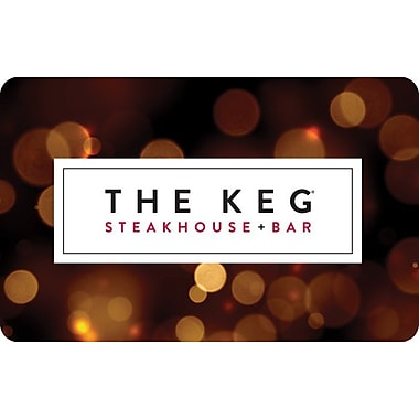 The Keg – Carte-cadeau de 25 $