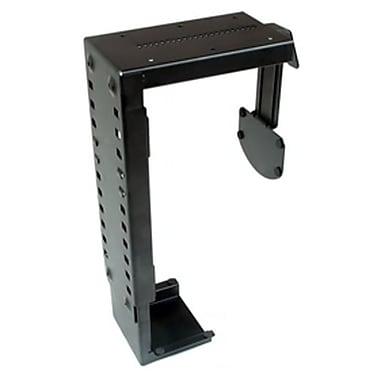 AnthroDesk Adjustable CPU Holder for Under Desk Mount