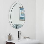 Decor Wonderland Droplet Bathroom Wall Mirror