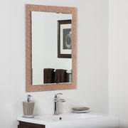 Decor Wonderland Monte Carlo Modern Bathroom Wall Mirror