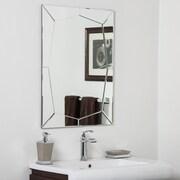 Decor Wonderland Carstadt Bathroom Wall Mirror
