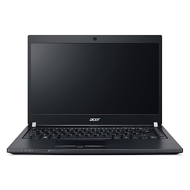 Acer - Portatif TravelMate NX.VCSAA.006 14 po, 2,5 GHz Intel Core i7-6500U, 256 Go SSD, 8 Go DDR4 SDRAM, Windows 7 Pro