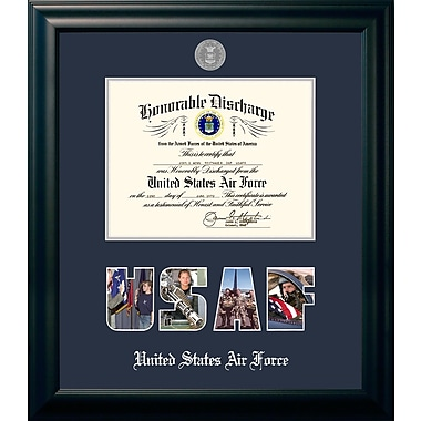 PATF Air Force Discharge Picture Frame; 11'' x 14''