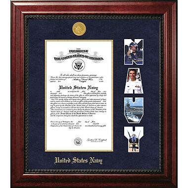PATF Navy Certificate Executive Picture Frame; 10'' x 14''
