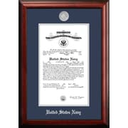 PATF Navy Certificate Picture Frame; 11'' x 14''