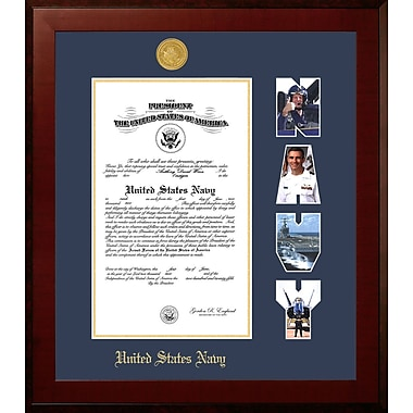 PATF Navy Certificate Honors Picture Frame; 8'' x 10''