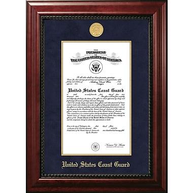 PATF Coast Guard Certificate Executive Picture Frame; 9'' x 14''