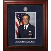 PATF Air Force Portrait Executive Picture Frame; Silver