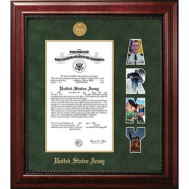 PATF Army Certificate Executive Picture Frame; 8'' x 10''