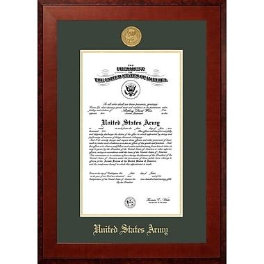 PATF Army Certificate Honors Picture Frame; 9'' x 14''