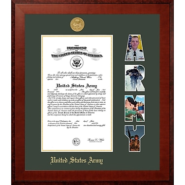 PATF Army Certificate Honors Picture Frame; 8'' x 10''