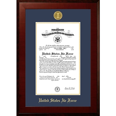 PATF Air Force Certificate Honors Picture Frame; 10'' x 14''