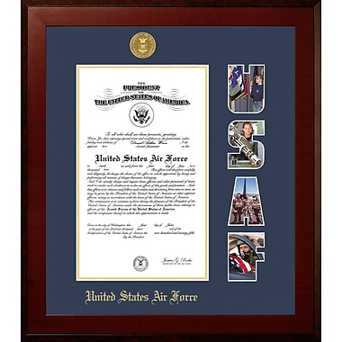 PATF Air Force Certificate Honors Picture Frame; 8'' x 10''