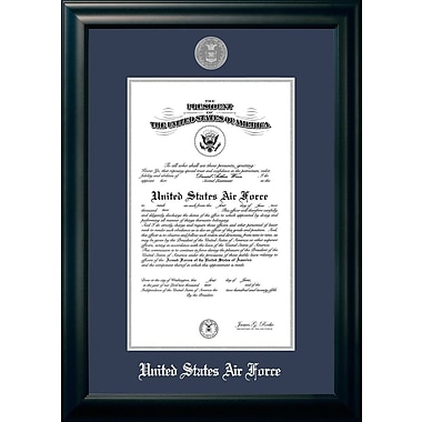 PATF Air Force Certificate Picture Frame; 9'' x 14''