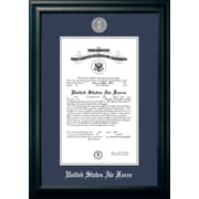 PATF Air Force Certificate Picture Frame; 10'' x 14''