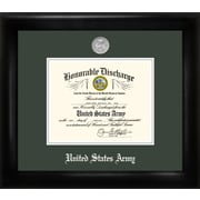 PATF Army Discharge Picture Frame; 11'' x 8.5''