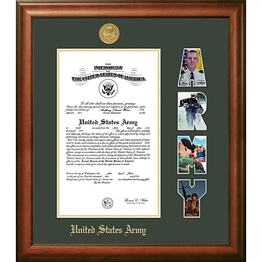 PATF Army Certificate Picture Frame; 8.5'' x 11''