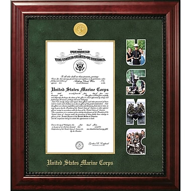 PATF Marine Certificate Executive Picture Frame; 9'' x 14''