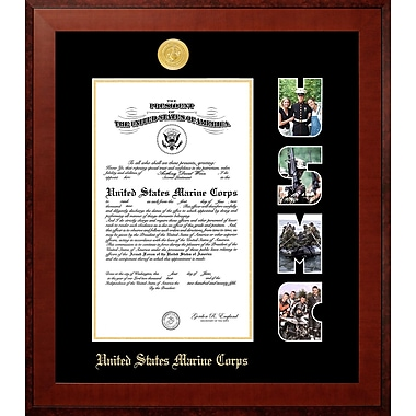 PATF Marine Certificate Honor Picture Frame; 10'' x 14''