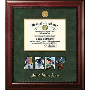 PATF Army Discharge Executive Picture Frame; 10'' x 14''