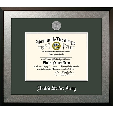 PATF Army Discharge Honor Picture Frame; 10'' x 8''