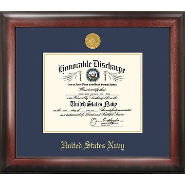 PATF Navy Discharge Picture Frame