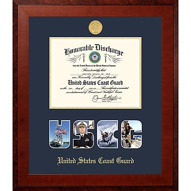 PATF Coast Guard Discharge Honors Picture Frame