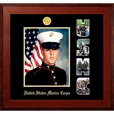 PATF Marine Portrait Honors Picture Frame