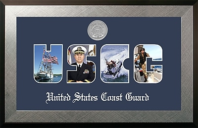PATF Coast Guard Collage Photo Honors Picture Frame