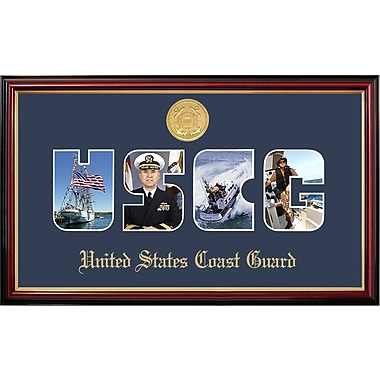 PATF Coast Guard Collage Photo Petite Picture Frame