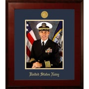 PATF Navy Portrait Honors Picture Frame