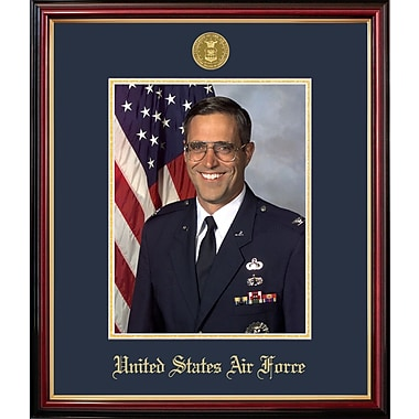 PATF Air Force Portrait Petite Picture Frame