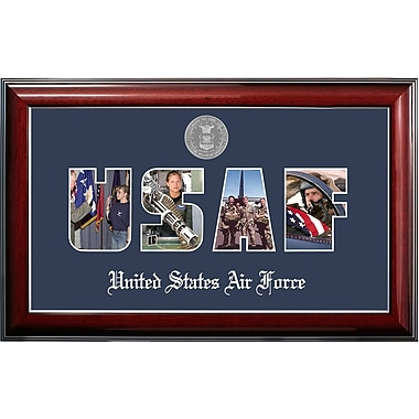 PATF Air Force Collage Photo Classic Picture Frame