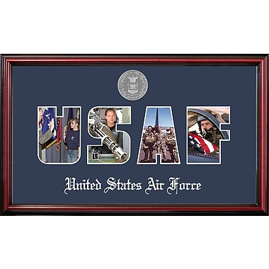 PATF Air Force Collage Photo Petite Picture Frame