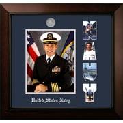 PATF Navy Portrait Legacy Picture Frame