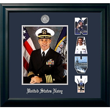 PATF Navy Portrait Picture Frame
