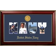 PATF Navy Collage Photo Classic Picture Frame