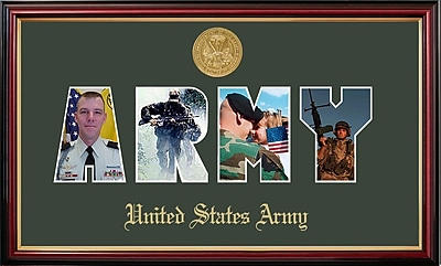 PATF Army Collage Photo Petite Picture Frame
