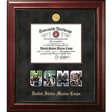 PATF Marine Discharge Executive Picture Frame