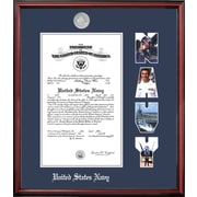 PATF Navy Certificate Petite Picture Frame; 10'' x 14''