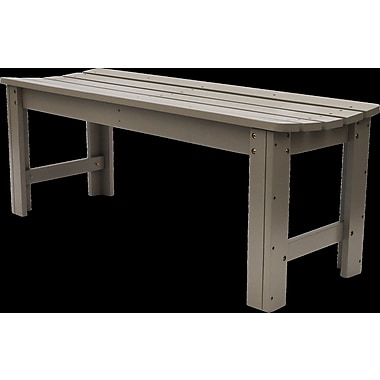 Shine Company Inc. Backless Garden Bench; 18.25'' H x 48'' W x 17'' D