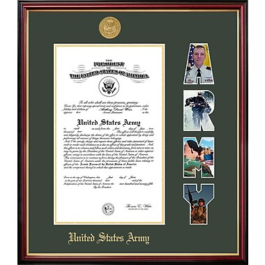 PATF Army Certificate Petite Picture Frame; 10'' x 14''
