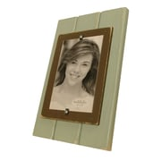 Matchstix Picture Frame; Blue/Chocolate
