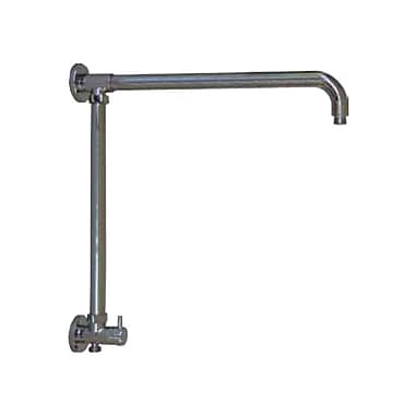 Opella Vertical Riser w/ 17'' Shower Arm and Built in Diverter; Chrome
